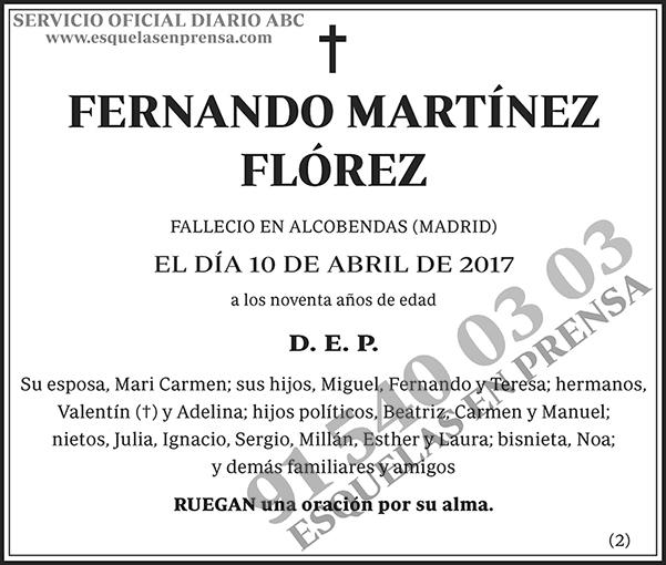 Fernando Martínez Flórez